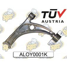 SuperPro Alloy Front Control Arm / Wishbone and Car Bush Kit Supaloy ALOY0001K